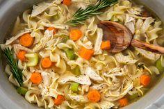 Crock-Pot Chicken Noodle Soup - Delish.com