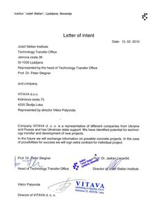 Attractive Sample Business Partnership Letter The Best Need Proposal  Partnership Letter Of Intent