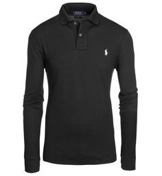 Polo Ralph Lauren Poloshirt, Slim Fit SCHWARZ