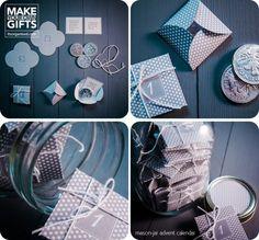 Make Your Own Mason Jar Advent Calendar | It's Organised