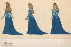 DAY 13: Favorite outfit: Sleeping Beauty's blue dress