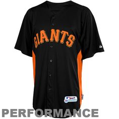 Majestic San Francisco Giants Batting Practice Performance Jersey