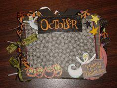8x6 Paper Bag Halloween Album