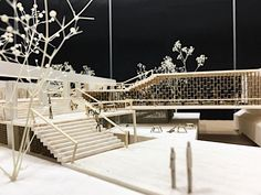 'Innovation District' School of Architecture and Design with Shibaura Institute of Technology workshop in Bangkok, Workshop Architecture, Maquette Architecture, Architecture Model Making, Architecture Concept Diagram, Concept Architecture, School Architecture, Landscape Architecture, Architecture Design, Workshop Design