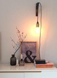 Es werde Licht - 10 tolle DIY-Leuchten für dein Zuhause | SoLebIch.de Foto: waterloo #solebich #diy #lampen #light #lights #pendelleuchte #hängeleuchte #kabel #modern #industrial #inspiration