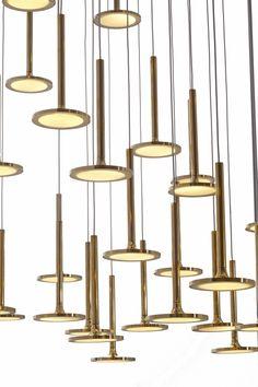 Luxury Chandelier, Contemporary Chandelier, Chandelier Lighting, Chandeliers Modern, Buy Led Lights, Hanging Lights, Gropius Bau, Ceiling Lamp, Ceiling Lights
