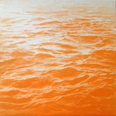 Orange Sea (via @1stdibs)