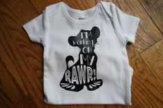 Disney Lion King Inspired Simba Onesie Baby Boy by buggyandbubba