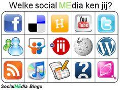 social media bingo kaart De deelnemers zetten een kruisje in het vakje waarvan ze het icoontje herkennen. Bij een horizontale of verticale bingo roept men bingo. Om een geldige bingo toegewezen te krijgen, moet je uit kunnen leggen wat het icoontje voorstelt en wat de functionaliteit van de site is. Inmiddels zijn er diverse varianten op de populaire sociale media bingo ontwikkeld. http://patrick.familiekoning.com/2014/02/03/sociale-media-bingo-overzicht-van-diverse-varianten/
