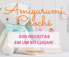 Amigurumi Flamingo - Ideias e Tutorial Crochet Cat Pattern, Knit Crochet, Free Pattern, Amigurumi For Beginners, Animal Knitting Patterns, Knitting Dolls Clothes, Crochet Baby Toys, Amigurumi Doll, Crochet Projects