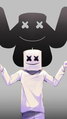Marshmello Wallpapers and Top Mix Joker Iphone Wallpaper, Flash Wallpaper, Hacker Wallpaper, Hd Wallpaper Android, Joker Wallpapers, Cute Anime Wallpaper, Cute Wallpapers, Marshmallow Pictures, Marshmello Dj