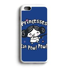 Star Wars Princesses Can Pew Pew Am Fit For iPhone 6 Hardplastic Back Protector Framed White FR23 http://www.amazon.com/dp/B016ZQBSKI/ref=cm_sw_r_pi_dp_7Wyowb0726FZB