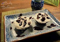 Homemade No-Bake Hazelnut Bounty Bars - my new favorite, sweet healthy treat.