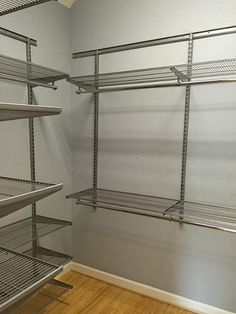 stainless wire rack master closets - Google Search