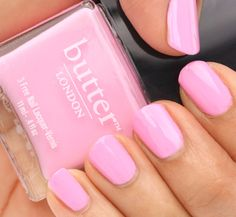 Perfectly polished with a touch of romance- that's how we're feeling about pink nails this season!