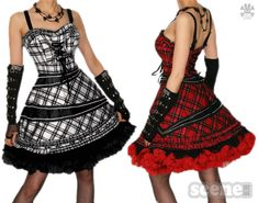 emo prom dresses , my rebekah likes Hot Topic Dresses, Emo Dresses, Prom Party Dresses, Punk Prom, Beautiful Dresses, Nice Dresses, Red Evening Gowns, Goth Dress, Gothic Outfits