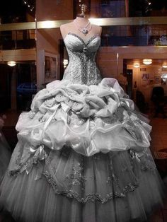 Amazing !!!! My wedding dress and to match with cool grey 11s hahah #PERFECT!