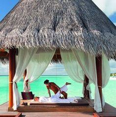 Weekend goals - a massage with a view!  #massage #saturday #weekendgoals…