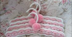 I had a request for a set of crochet covered hangers. I did not have a pattern, but did have a some original hangers to copy from. Fr...