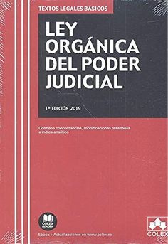 Ley orgánica del poder judicial Colex, 2019 Geek Stuff, Kindle, Editorial, Texts, Books To Read, Photo Storage, Recommended Books, Geek Things