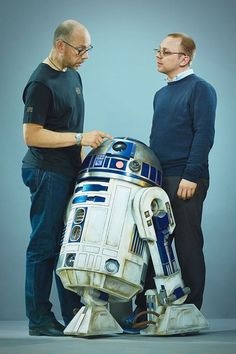 Star Wars: The Force Awakens new R2-D2 was made by British superfans Lee Towersey and Oliver Steeples