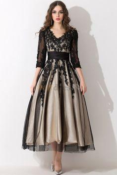 Black Satin Plus Size Goth Wedding/Evening dress size 22-24 by ...