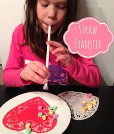 Family Fun Night: Conversation Hearts. Valentine PartyValentine IdeasStraw  ...