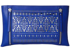 Vince Camuto Lila Clutch Ultra Violet/Silver - Zappos.com Free Shipping BOTH Ways