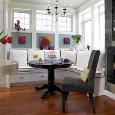Home Breakfast Nook Design, Pictures, Remodel, Decor and Ideas - page 3