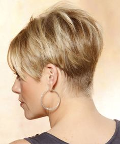 Short hairstyles back view inverted bob - Shorthairstylelong.com ...