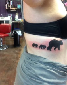 1000 images about ink on pinterest for Bear cub tattoo