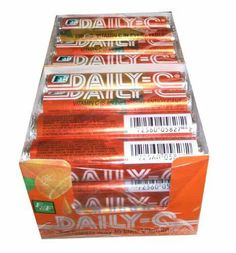DELICIOUS! ~ Daily-C, The Chewable Vitamin C • Contains 250 mg of Vitamin C in every tablet
