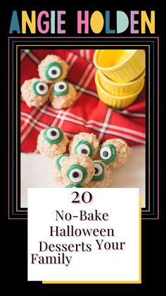 Halloween Desserts, Halloween Food For Party, Halloween Treats, Holiday Treats, Holiday Fun, Acorn Cookies, No Bake Treats, Christmas Cookies, Diy And Crafts