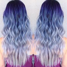 TRANSFORMATION: Ice/Blue Root to White Color Melt   Modern Salon
