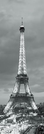 Effiel tower black and white photography , Posters and Prints at Art.com