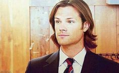 #SamWinchester in suit