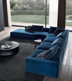 Find out why modern living room design is the way to go! A living room design to make any living room decor ideas be the brightest of them all. Living Room Sofa Design, Living Room Colors, New Living Room, Living Room Decor, Living Room With Corner Sofa, Sofa Furniture, Living Room Furniture, Furniture Design, Furniture Removal