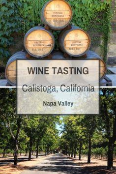 Wine Tasting in Calistoga, California via @tripswithtykes
