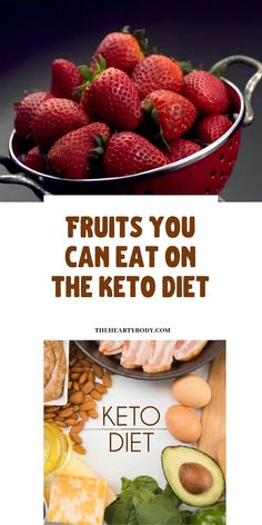 Are you wondering what fruits you can eat on keto? Find out which fruits are keto friendly and low carb diet approved. Get the facts on which fruits are keto approved Fruit On Keto Diet, Keto Friendly Fruit, Keto Diet List, Ketogenic Diet Food List, Best Keto Diet, Diet And Nutrition, Diet Foods, Healthy Eating Recipes, Low Carb Recipes