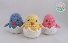 Ravelry: Amigurumi Hatching Easter Chicks by Tamara Lazaridou