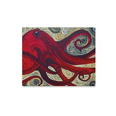 Canvas Wall Art Oil Painting Octopus Canvas Wall Art Print (Frame Also Included)- Measure Size: x Canvas Wall Art, Wall Art Prints, Poster Prints, Framed Prints, Octopus Print, Art Oil, Amazon, Room, Painting