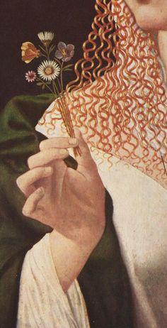 Bartolomeo Veneto: Courtesan (Portrait of Lucrezia Borgia) First third of the 16th century