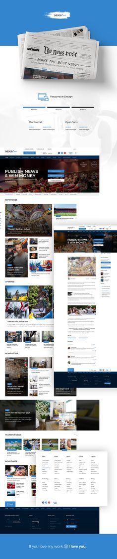 #news #article # newspaper #blog #editor #editorial #html #themeforest #envato #diadea #diadea3007