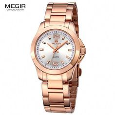 Cool Watches: Promo Offer MEGIR Women Watches Luxury Couple Dress Wristwatch Relogio Feminino Clock for Women Montre Femme Quartz Ladies Watch for Lovers Modern Watches, Luxury Watches, Cool Watches, Watches For Men, Wrist Watches, Ladies Watches, Women's Watches, Couple Luxe, Luxury Couple