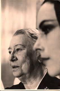 Bronislava Nijinska and Georgina Parkinson--the legend passes her legacy onto the next generation from Russian to England...
