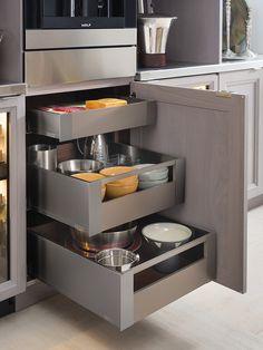 Interior Storage Drawers | Wood-Mode | Fine Custom Cabinetry