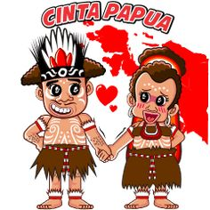 Pace and Mace Papua by Arif Hakim-Arnes-Indra (Branch Jayapura) sticker