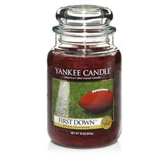 Yankee Man Candles First Down