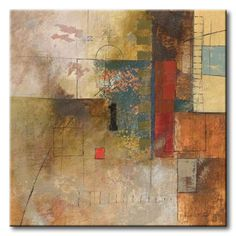 Posterazzi Number I Canvas Art - John Kime x Watercolor Paintings Abstract, Abstract Photos, Abstract Art, Art Programs, Beautiful Paintings, Abstract Landscape, Abstract Expressionism, Creative Art, Modern Art