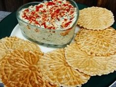 Notes from the Vegan Feast Kitchen/ 21st Century Table: BIG, CRISPY, WHOLE GRAIN, LOW-FAT PIZZELLE CRACKERS AND A YUMMY LOW-FAT VEGAN ARTICHOKE HEART AND SPINACH (OR KALE) DIP